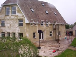 Irish 4 storey strawbale home